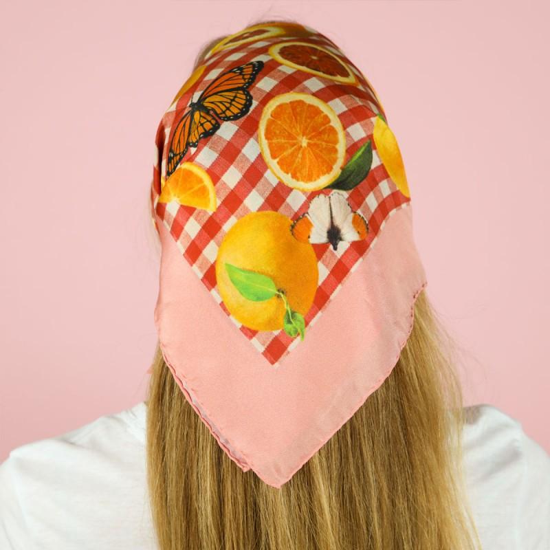 mariposas y naranjas