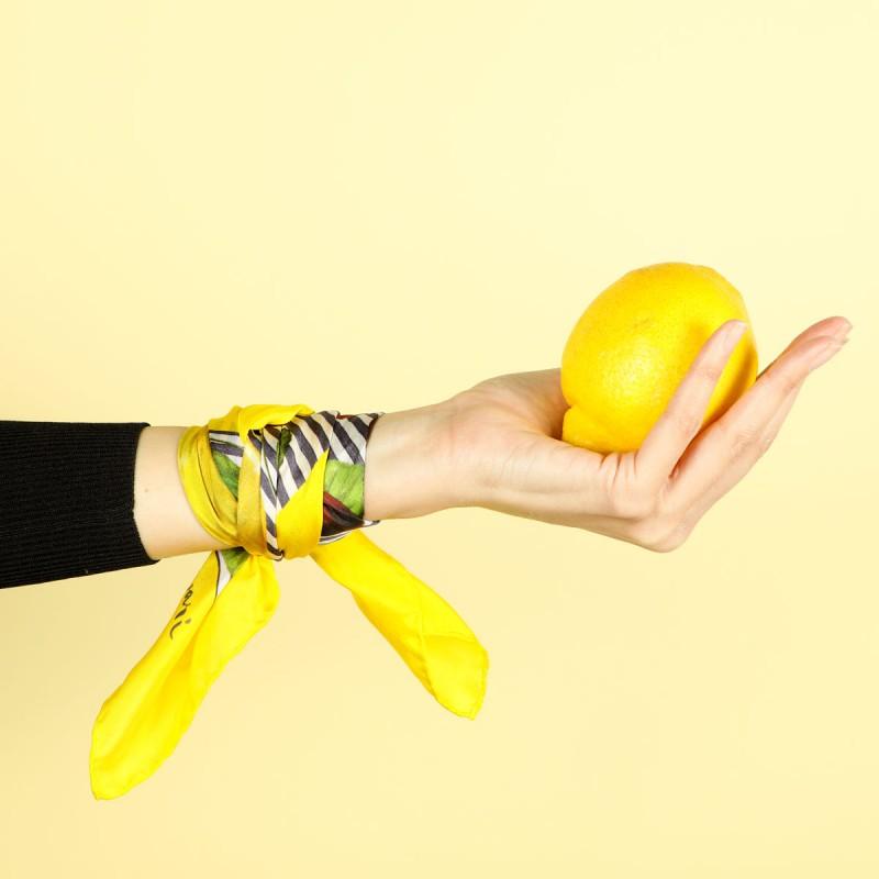 limones y cerezas rayas